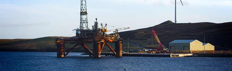 Oil and gas decommissioning sector plan