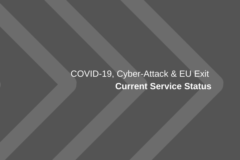Our regulatory response to COVID-19, cyber-attack and EU exit